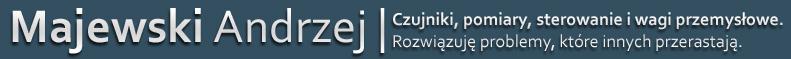 Majewski Andrzej | Czujniki, pomiary i sterowanie oraz wagi przemysłowe