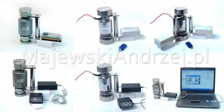 Poziomica elektroniczna dla budujących i serwisujących wagi samochodowe, zbiornikowe i inne wagi przemysłowe