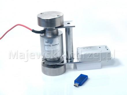 Poziomica elektroniczna z czujnikiem bezprzewodowym ZigBee 2