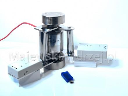 Poziomica elektroniczna z czujnikiem bezprzewodowym ZigBee
