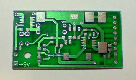 LiPo Batt Loader PCB front