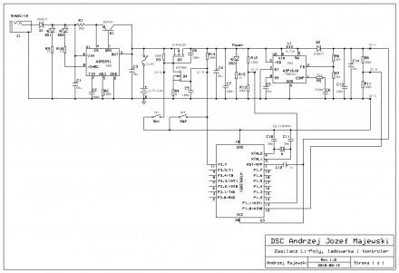 System zasilania z akumulatorem Li-Poly